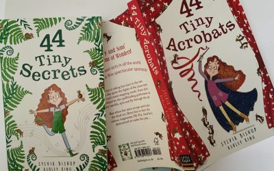 Sylvia Bishop guest blog: character games and '44'