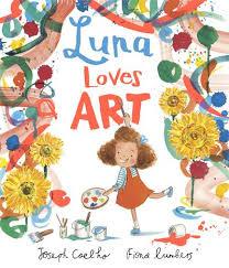 Bookwagon Luna Loves Art
