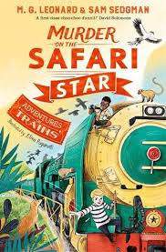 Bookwagon Murder on the Safari Star