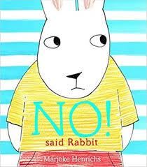 Bookwagon NO! said Rabbit